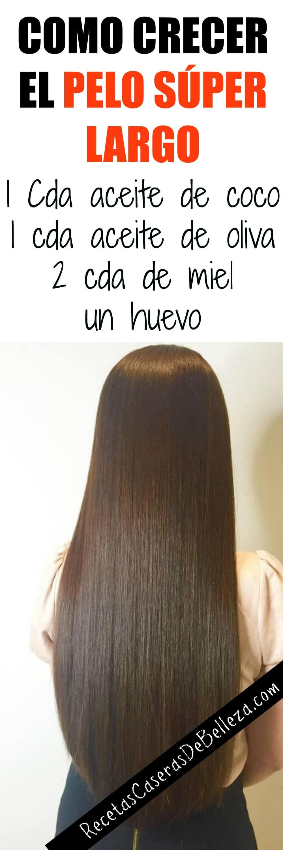 Hoy te mostraremos como crecer tu pelo súper largo. Es completamente natural, libre de químicos y solo toma minutos de hacer.