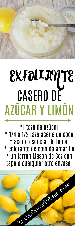 Exfoliante Facial Casero Limon Azucar Limón Y Azúcar Para La Cara Uno De Los Grandes Remedios Naturales Remedios Caseros Para El Hipertiroidismo