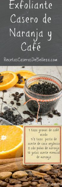 Exfoliante Casero de Naranja