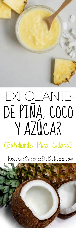 Exfoliante Casero de Piña