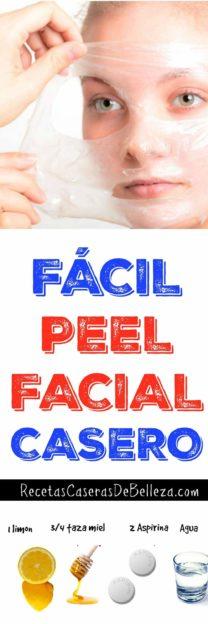 Peel Facial Casero