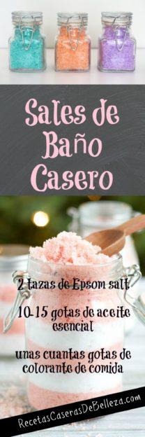 Sales de Baño Casero