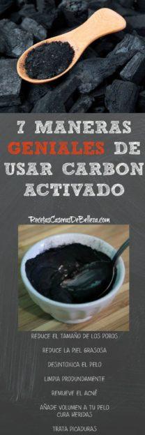 Usar Carbón Activado