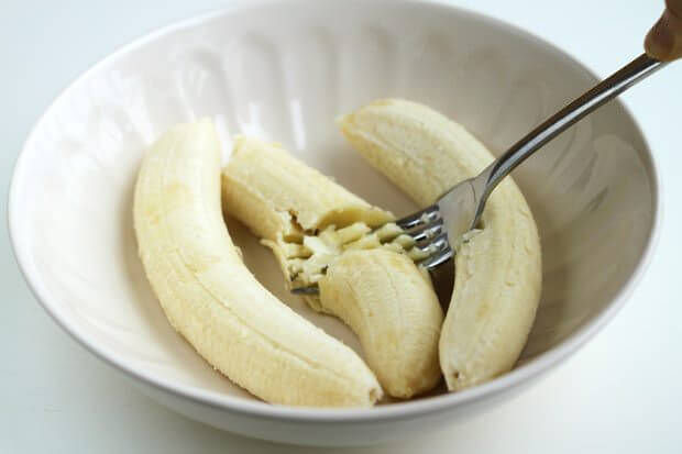 bananas en pasta