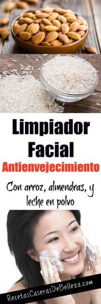 Limpiador Facial Casero Anti Envejecimiento