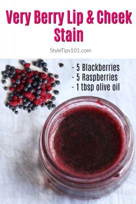 berry lip cheek stain