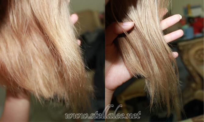antes y despues cabello fuerte