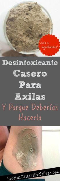 Desintoxicante Casero para Axilas