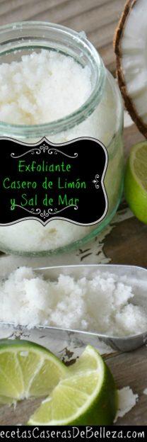 Exfoliante Casero de Limón
