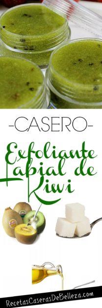 Exfoliante Labial de Kiwi