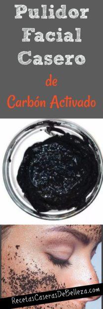 Pulidor Facial Casero de Carbón