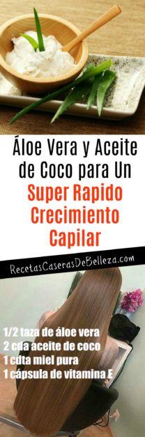 Aceite de Coco para el Crecimiento Capilar
