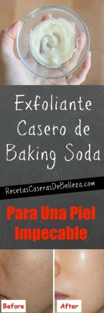 Exfoliante Casero De Baking Soda