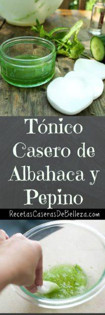 Tónico Casero