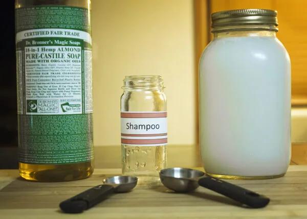 Shampoo Casero Para el Crecimiento Capilar