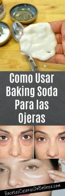Baking Soda Para las Ojeras