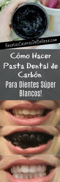 Cómo Hacer Pasta Dental de Carbón