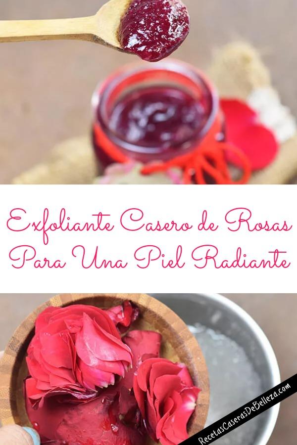 Exfoliante Casero de Rosas