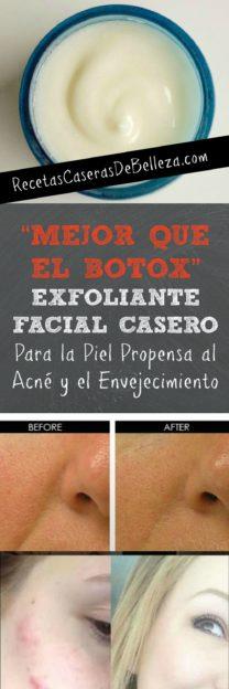 Exfoliante Facial Casero Anti-Arrugas