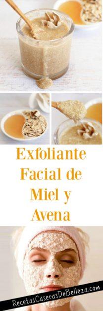 Exfoliante Facial de Miel
