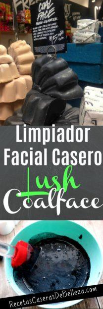 Limpiador Facial Casero Lush Coalface
