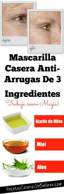 Mascarilla Casera Anti-Arrugas