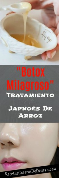 Mascarilla Facial Casera Japonesa