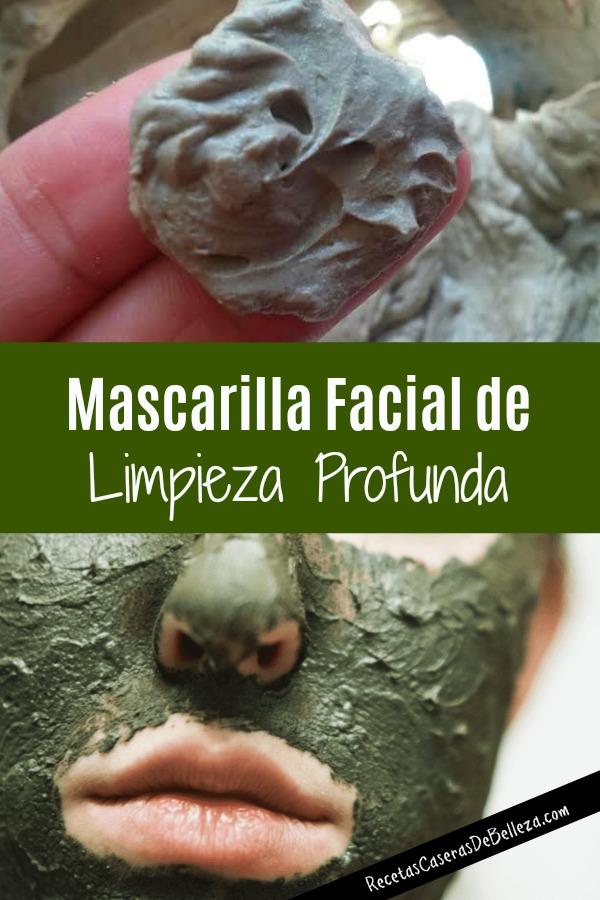 Mascarilla Facial de Limpieza Profunda