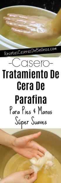 Tratamiento Casero Con Cera de Parafina