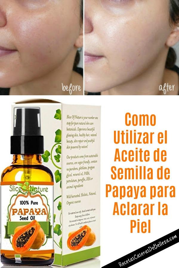 Aceite de Semilla de Papaya