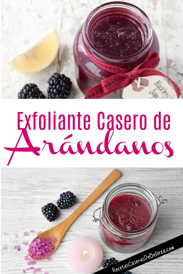 Exfoliante Casero de Arándanos