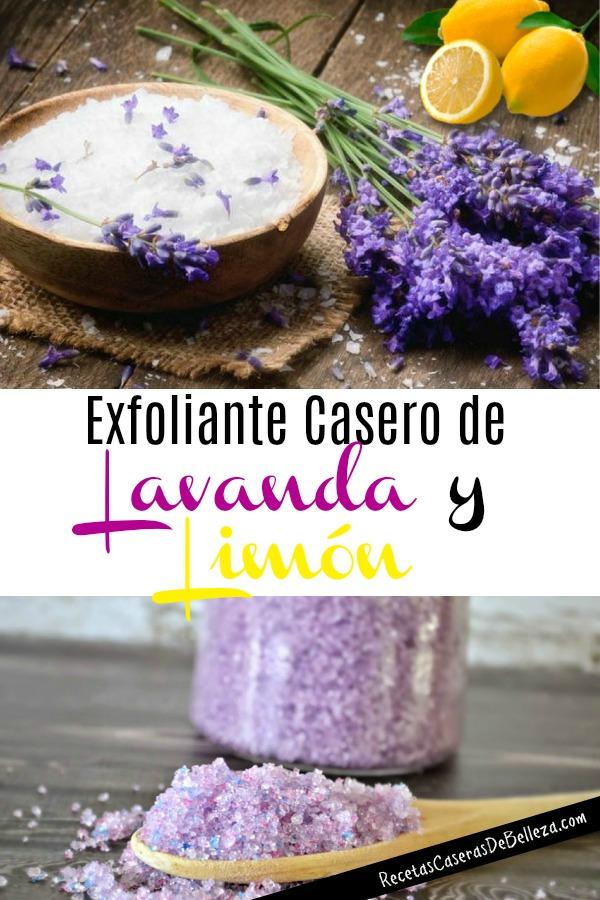 Exfoliante Casero de Lavanda