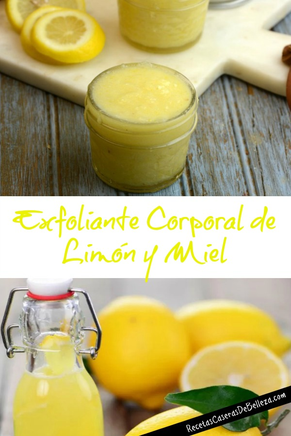 Exfoliante Corporal de Limón