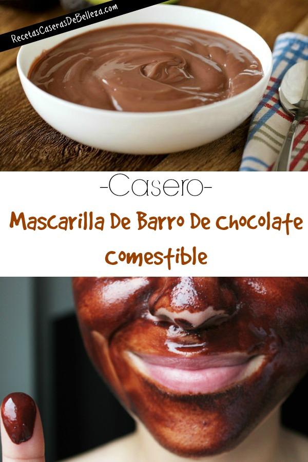 Mascarilla Casera de Barro Comestible