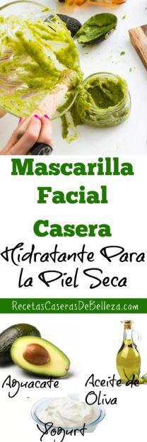 Mascarilla Facial Casera Hidratante