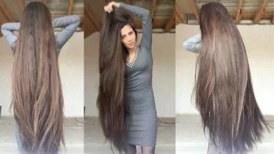 cabello extra largo