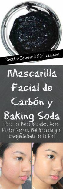 Mascarilla Facial de Carbón