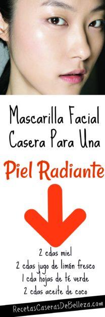 Mascarilla Facial Casera Para Una Piel Radiante