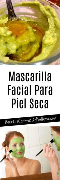 Mascarilla Facial Casera Para Piel Seca