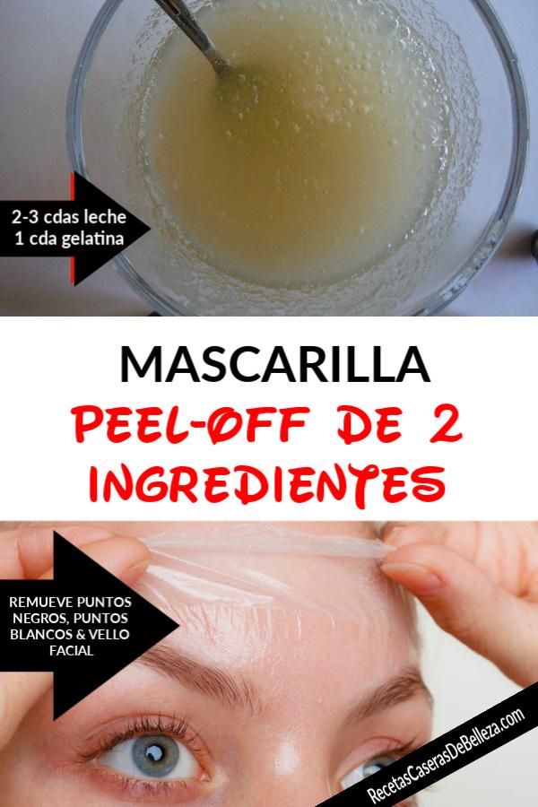 Mascarilla Peel-Off