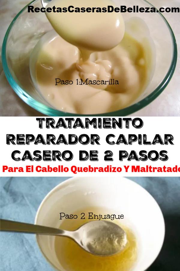 Tratamiento Reparador Capilar Casero
