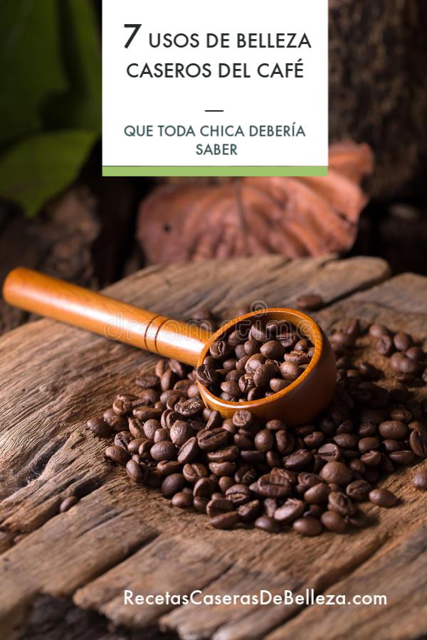 usos de belleza caseros del café
