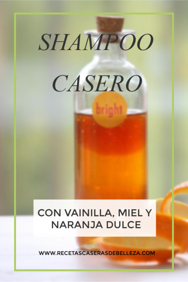 Receta De Shampoo Casero
