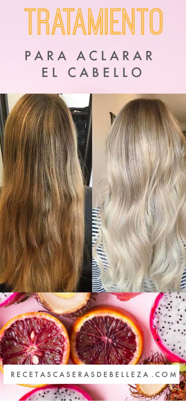 Este tratamiento casero para aclarar el cabello en el transcurso de unas pocas semanas, así que solo ten un poco de paciencia, ¡y en poco tiempo tendrás un cabello más claro y soleado! #aclararelcabello #recetascaserasdebelleza