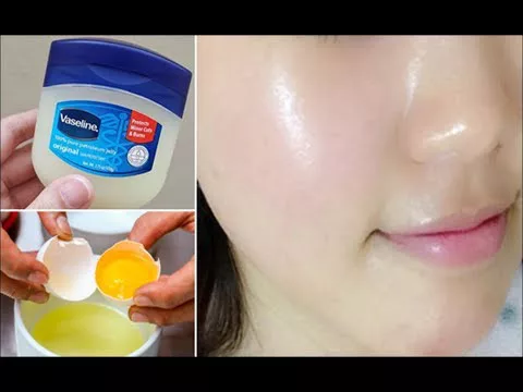Mascarilla Facial De Clara De Huevo Y Vaselina Para Todo
