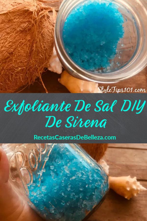 Exfoliante De Sal DIY De Sirena