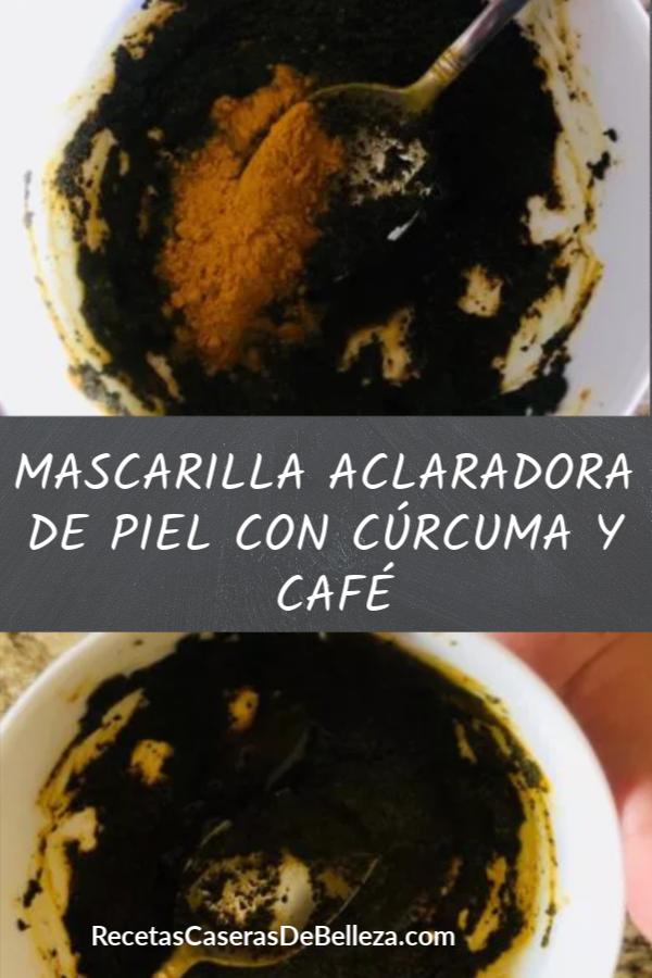 MASCARILLA ACLARADORA DE PIEL