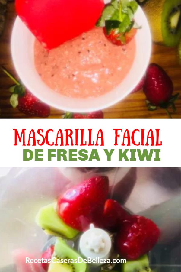 MASCARILLA FACIAL DIY DE FRESA