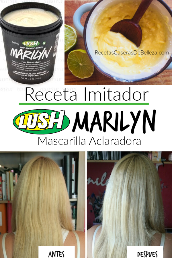 Mascarilla Lush Marilyn