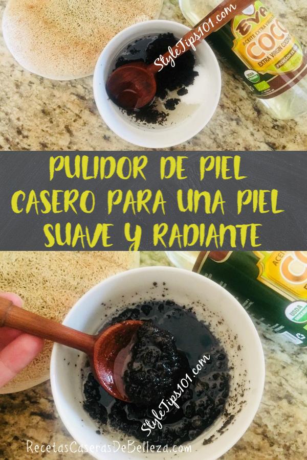 PULIDOR DE PIEL CASERO